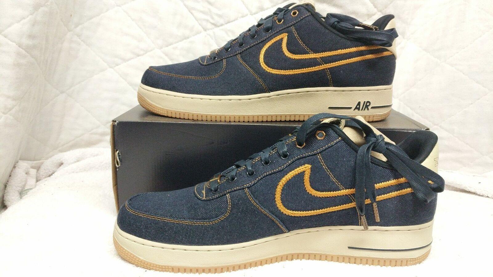 Gli force uomini sono nike air force Gli 1 basso premio jeans scarpe - volume 13 - 318775-404 0cc65d