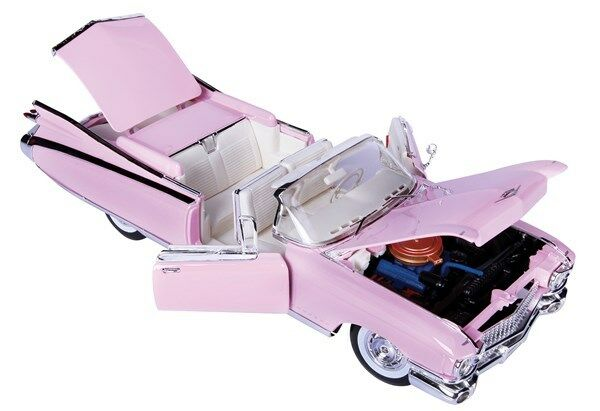 1 18 Scale - 1959 Cadillac Eldorado Biarritz - Pink Diecast Toy Model
