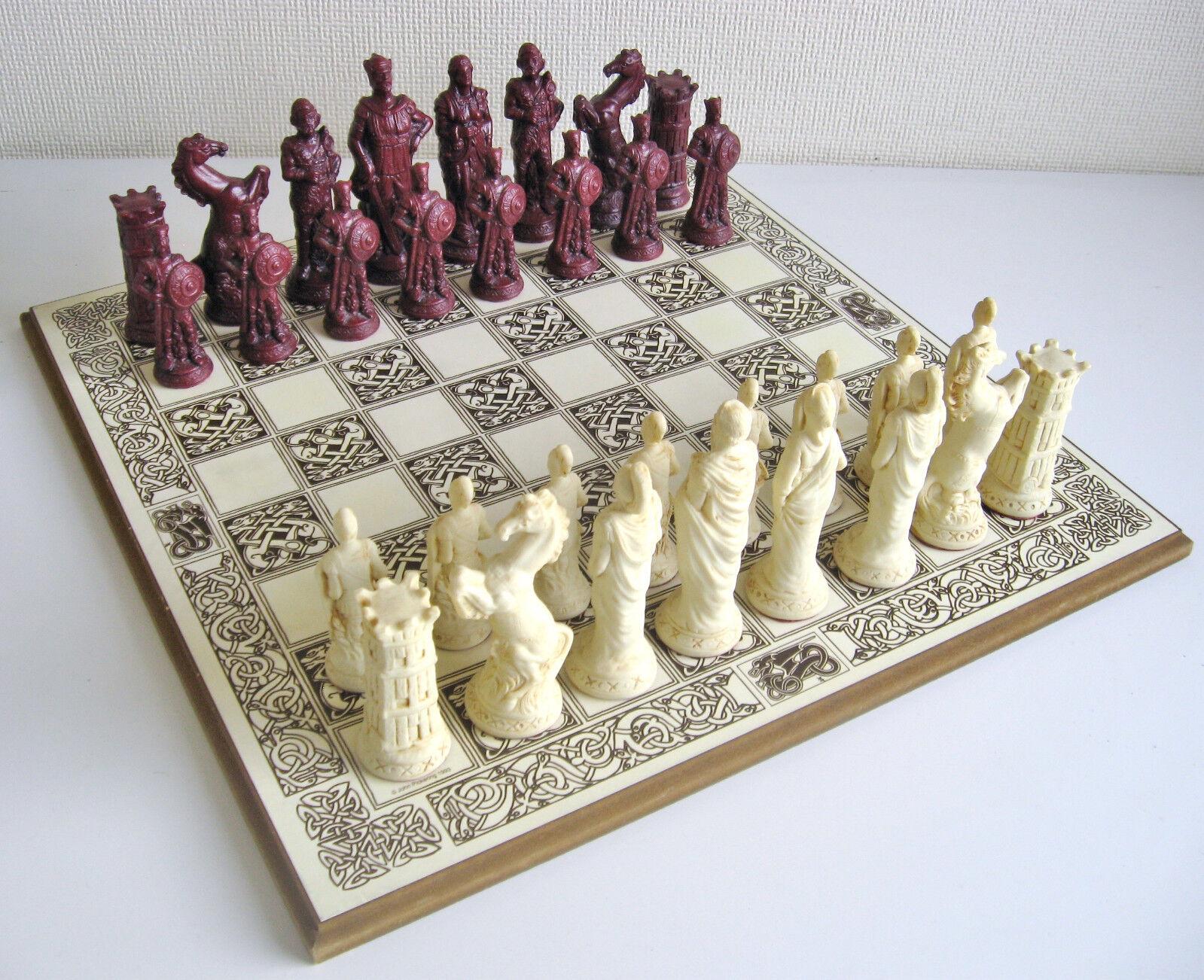 Vintage Roman vs Gauls (Celts) Chess Set