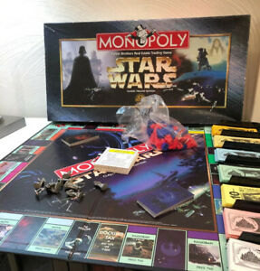 Vintage Monopoly Star Wars Classic Trilogy Edition ...