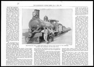 1899-Antique-Print-AFRICA-Transvaal-Norvals-Pont-Port-Elizabeth-Train-152