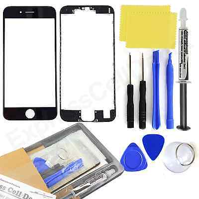 10X Wholesale Lot replacement front lcd outer screen glass for WHITE iPhone 6//6S