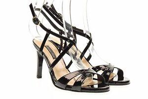 Andrea Pinto scarpe donna sandali donna colore nero vernice art. 621 n 40