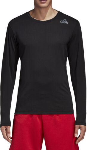 Shirts adidas FreeLift Prime Mens Long Sleeve Training Top Herren Black