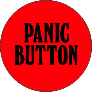 31111-Red-amp-Black-Panic-Button-Funny-Comedy-Joke-Gift-2-25-034-Refrigerator-Magnet
