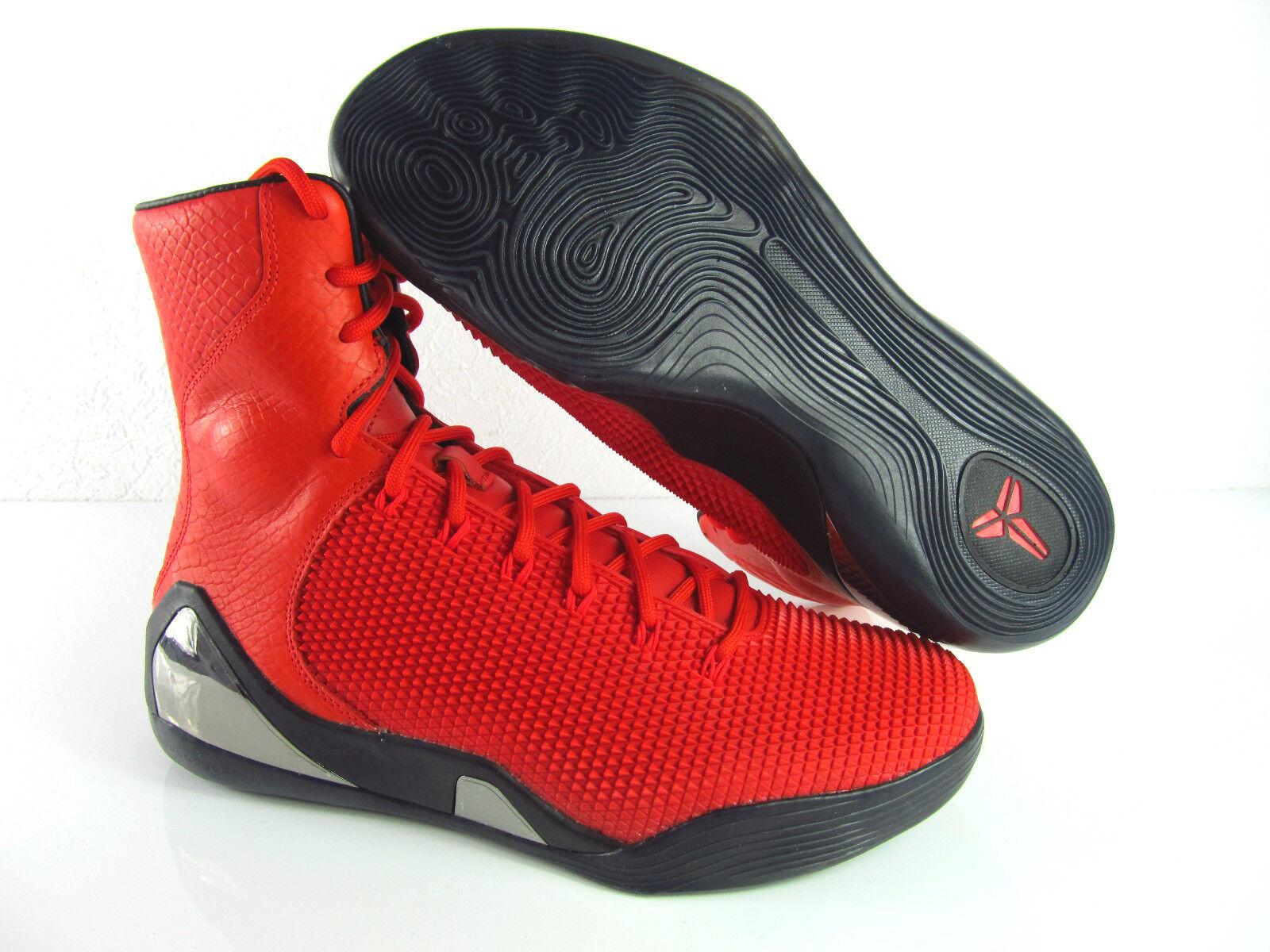 Nike Kobe IX High KRM EXT QS Challenge Red Exclusive UK_8.5 US_7 9.5 Eur_40 43