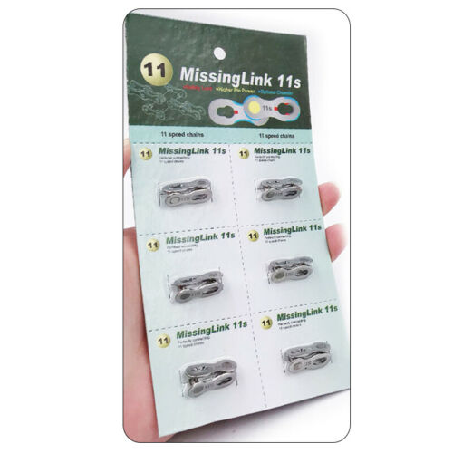 Portable 6pairs Bike Chain Buckle Quick Link Joint Connector 6//7//8//9//10//11 Speed