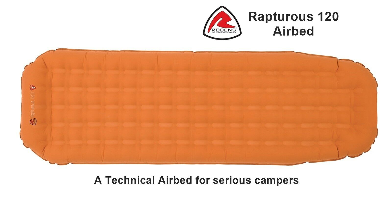 Robens Rapturous 120 Airbed - A Technical Airbed for serious campers