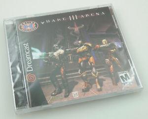 Sega-Dreamcast-Quake-III-Arena-Brand-New-Factory-Sealed