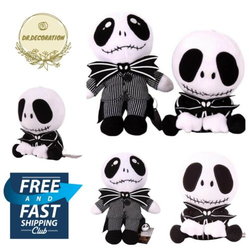 HOT The Nightmare Before Christmas Gift Jack Skellington Plush Doll Stuffed Toy