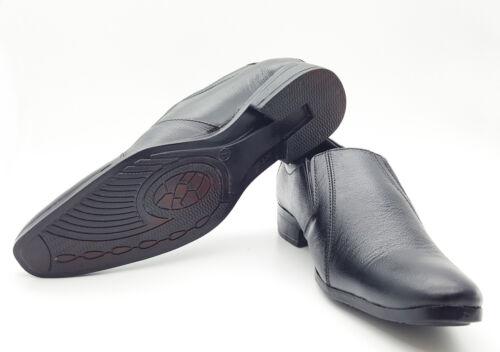 Zapatos de Cuero Formal para Hombre Adulto Escuela Oficina Collage Fiesta formal Vestido de UK-7