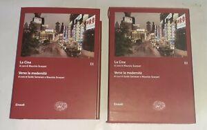La Cina. Verso la modernità - Voll. III - Samarani e Scarpari - Einaudi, 2009