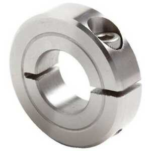 CLIMAX METAL PRODUCTS H1C-100-S Shaft Collar,Std,Clamp,1//2in.W