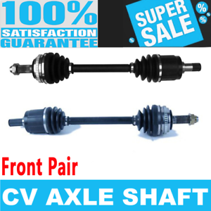 2x Front CV Axle Shaft for HONDA ACCORD 98-02 L4 2.3L Standard Transmission