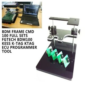 as Pictures FGTECH BDM100 K-tag ECU Programmer Tool Diagnostic BDM Frame with Adapters Set for FGTech BDM100 ECU Programmer CMD BDM Frame CMD Sets