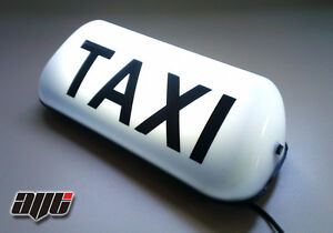 14-5-034-LED-MAGNETIC-TAXI-ROOF-SIGN-LIGHT-WHITE-TAXI-METER-TOPSIGN-CAB-LIGHT
