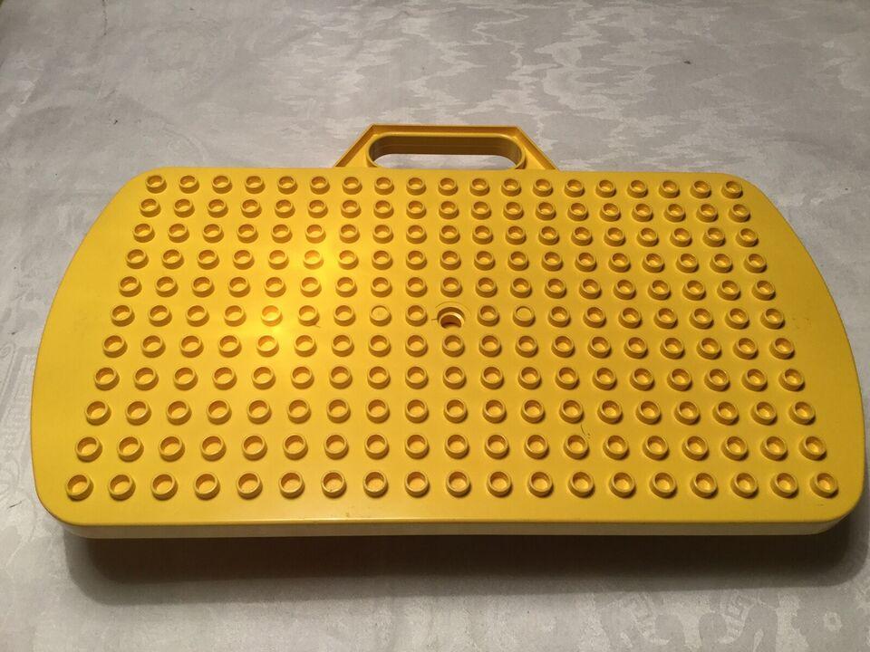Lego Duplo, Fin, gammel Lego lege tavle