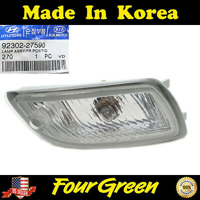 Genuine Hyundai Parts 92301-29550 Driver Side Parking Light Assembly