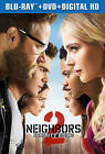 Neighbors 2: Sorority Rising (Blu-ray/DVD, 2016, 2-Disc Set, Includes Digital Copy)