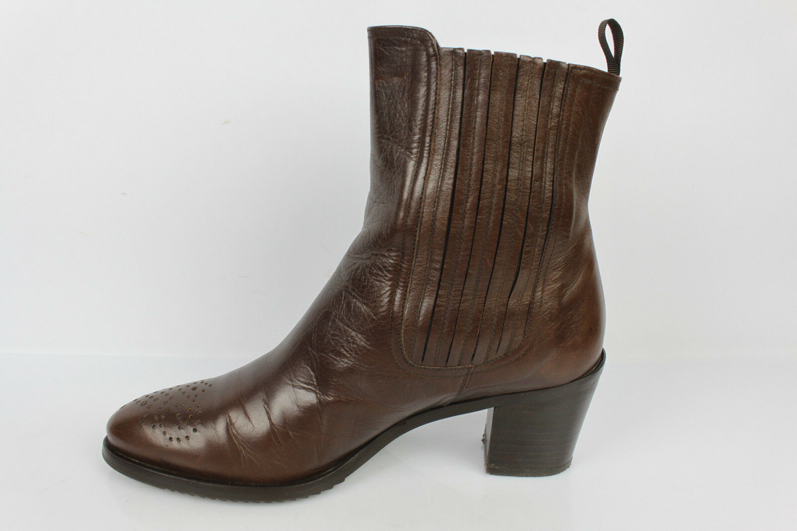 Bottines Boots ZINDA T Cuir Marron T ZINDA 37 TBE 496c72