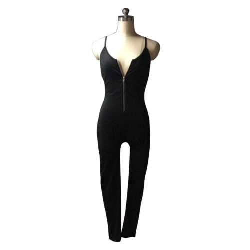 New Women Ladies Clubwear V-Neck Playsuit Bodycon Party Jumpsuit/&Romper Trousers