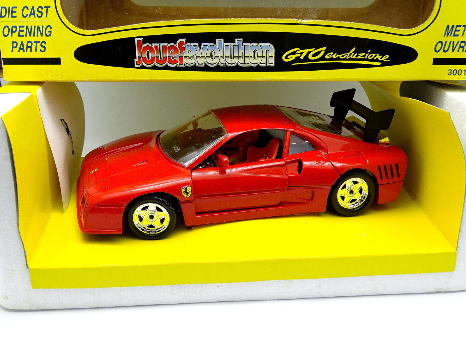 Jouef Evolution 1 18 - Ferrari GTO Evoluzione Rouge