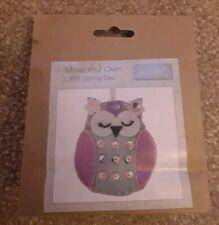 Spring Owl Trimits Felt Decoration Kit