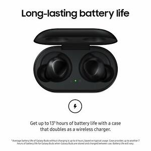 Samsung Galaxy Buds True Wireless In Ear Bluetooth Headphones Black Sm R170 2019 723548752292 Ebay