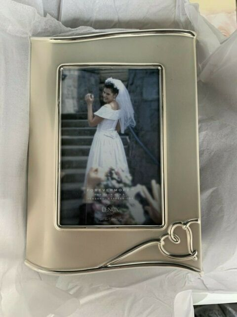 Lenox Forevermore Silverplated Picture Frame 4 X 6 Original Box New Wedding For Sale Online