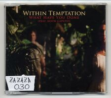 Within Temptation Maxi-CD What Have You Done - 2-track - feat. Keith Caputo
