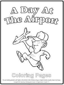 Malbuch 67 Malvorlagen Airport Flughafen Ausmalbilder Als Pdf