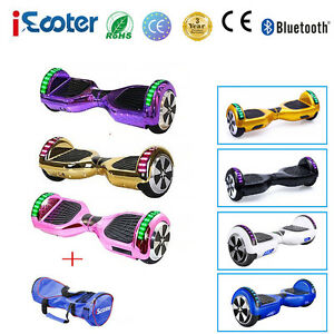 "6.5"" Gyropode Hoverboard self balancing board électrique Bluetooth Scooter"