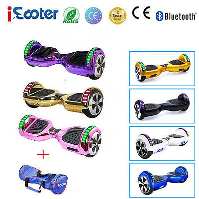 "6.5"" Gyropode self balancing scooter Balance board électrique Bluetooth Iscooter"