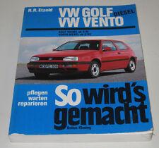 Reparaturanleitung VW Golf III 3 Vento Typ 1H Diesel Pflegen Warten Baujahr 1996