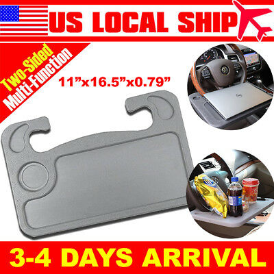 Wheelmate Car Table Steering Wheel Tray and Vehicle Seat Mount Notebook