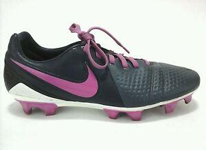Nike CTR360 Kanga-Lite Soccer Cleats Shoes Gray Pink US 7.5  EU 38.5 EUC