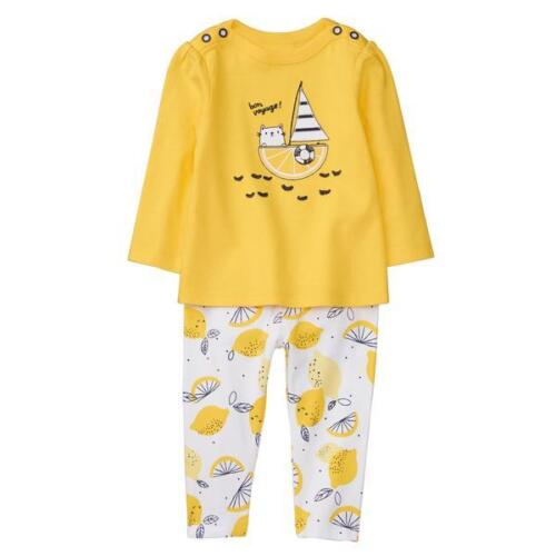 NWT Gymboree Bright Days Ahead  Sailing Kitty Shirt Top Leggings Set Baby Girl