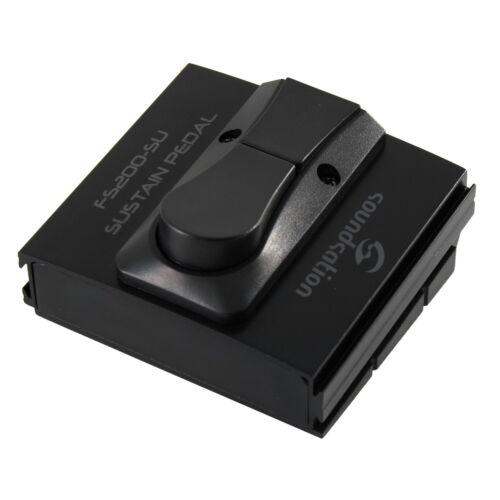 Pedale sustain per tastiera con switch per la selezione dello stat SOUNDSATION