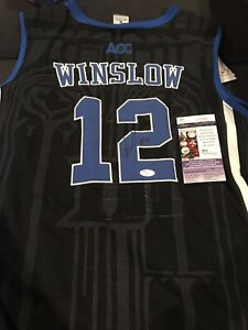 big sale 25513 e26be Details about Justise Winslow Signed Autographed Duke Jersey! JSA!
