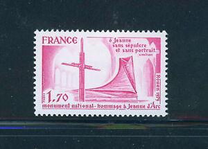 FRANCIA-FRANCE-1979-MNH-SC-1651-Joan-of-Arc
