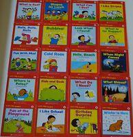 Set 20 Easy Reading Books PreK Kindergarten Guided Reading Level A Homeschool
