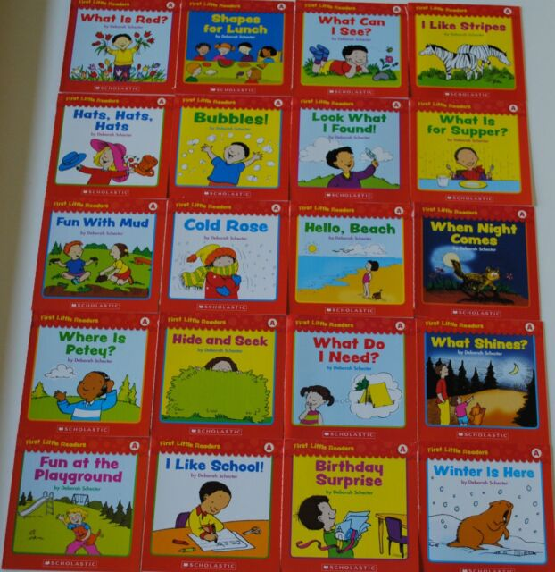 Set 20 Easy Reading Books PreK Kindergarten Guided Reading Level A Homeschool