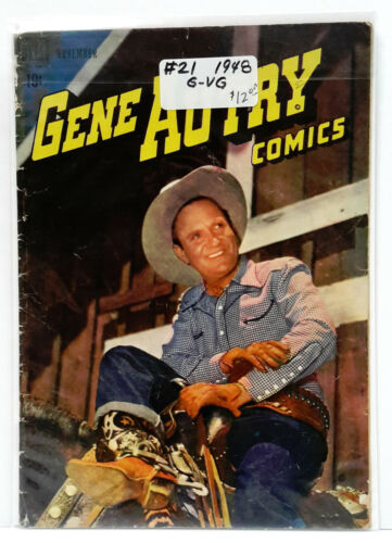 M-7872 Your Choice of 70+ 1940s-1950s Gene Autry DELL Comic Book Colection