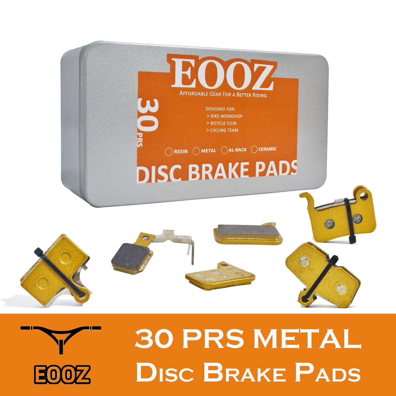 30PRS Bike brake pads metal For shimano sram magura formula hayes tektro zoom