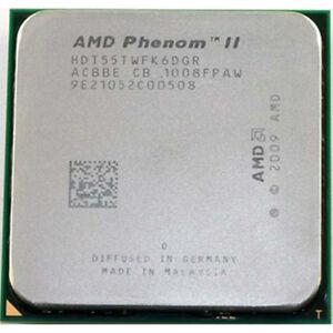 AMD CPU Phenom II X6-1055T 2.8GHz Socket AM3  HDT55TWFK6DGR 95W