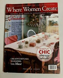 Stampington-Where-Women-Create-Magazine-Premier-Issue-Winter-2008-Simply-Chic