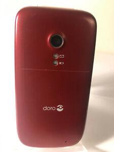 Doro Phone Easy 621-Rot (entsperrt) Handy-Flip Fold-guter Zustand