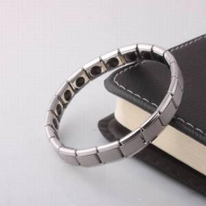Unisex-Fashion-Titanium-Steel-Magnetic-Therapy-Energy-Clasp-Bracelet-Health-Care
