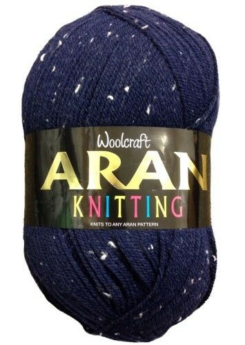 £2.99 Max Postage Aran Knitting Yarn Woolcraft 400g over 20 Shades Available