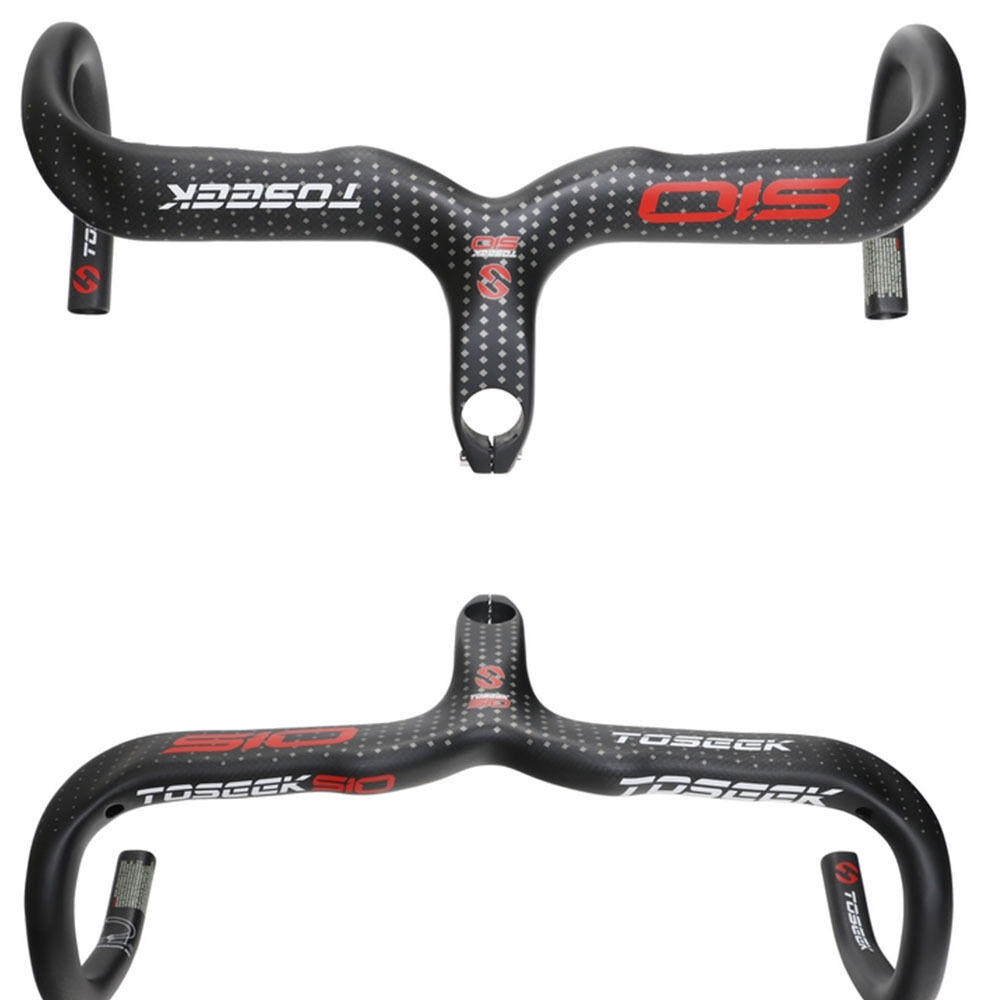 Carbon Rennrad Lenker Vorbau Racing Ingrated Drop Bar 3 Karat 28 6  400 420 440